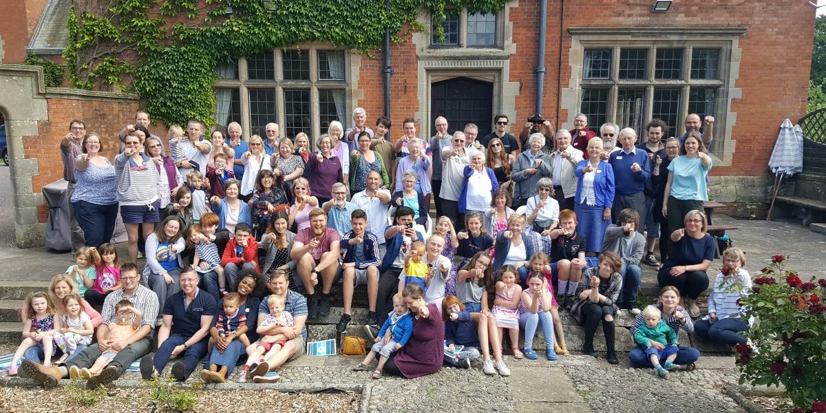 photo of church family