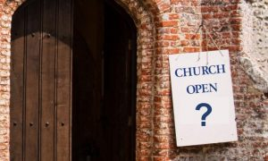 Reopening Church Buildings